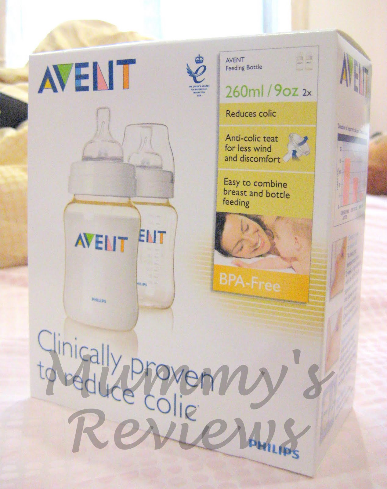 AVENT BPA-Free Feeding Bottles