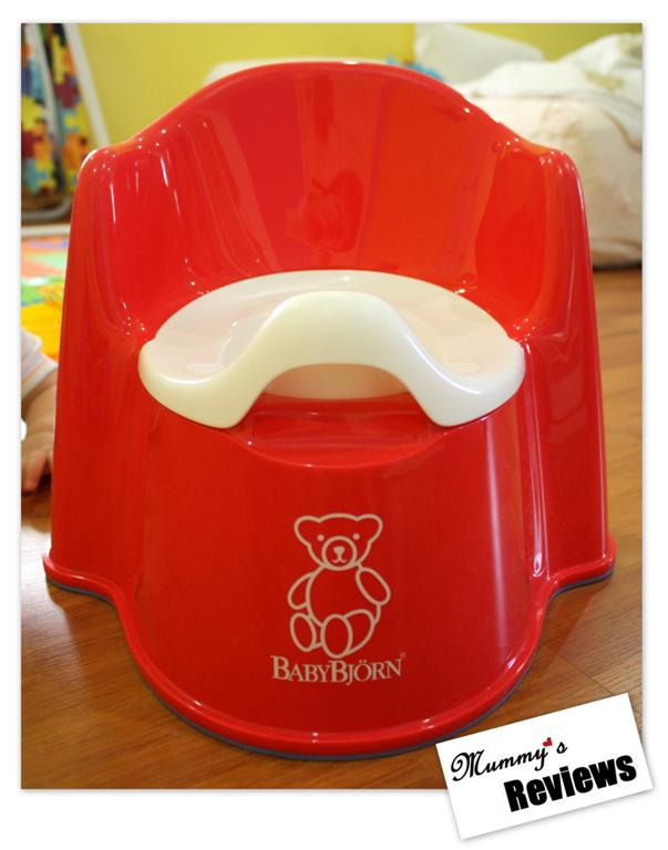 Baby Bjorn Potty Trainer Chair