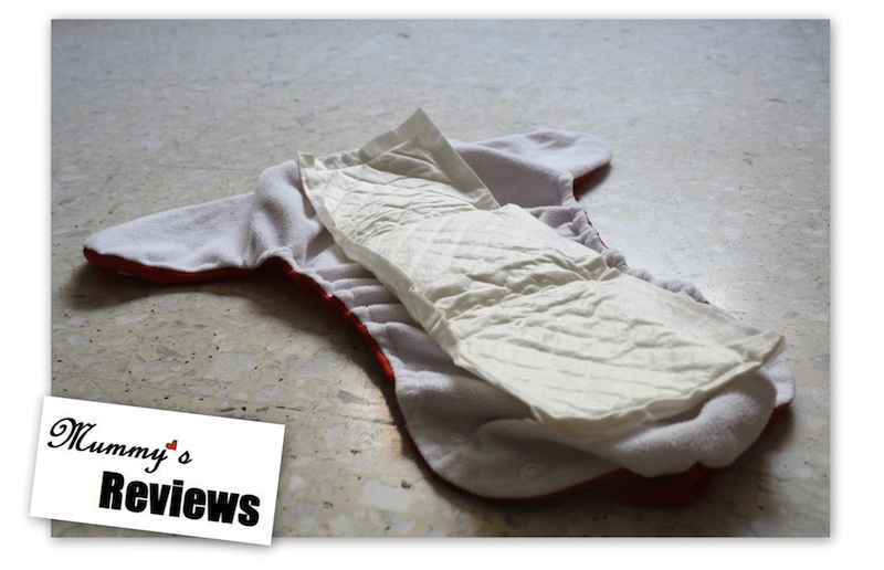 Flip Disposable Inserts in a Cloth Diaper