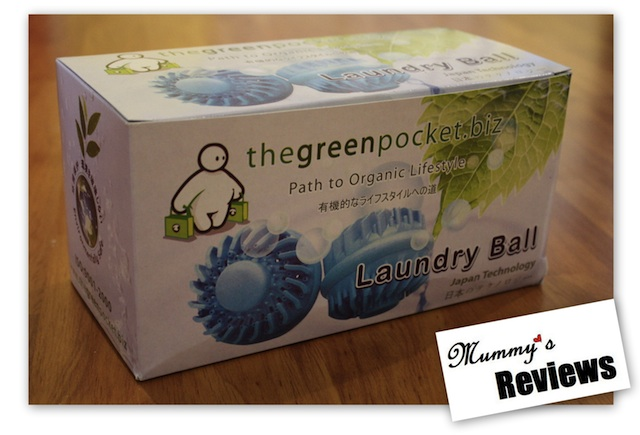 The Green Pocket Laundry Ball