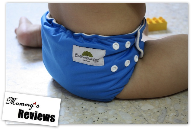 Bottombumpers Side Snapping AIO Diapers - Back