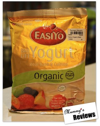 EasiYo Organic Yoghurt