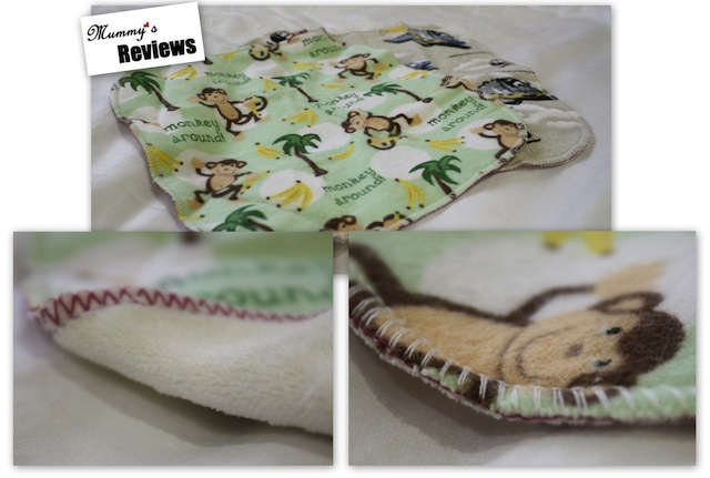 Angel Mel Cloth Baby Wipes (Close Up)