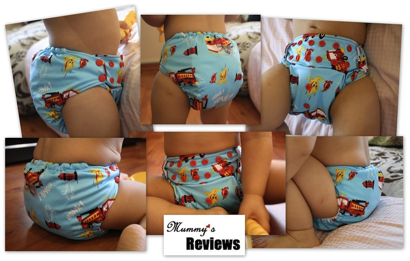 Rumparooz One Size Cloth Diaper (Different views)