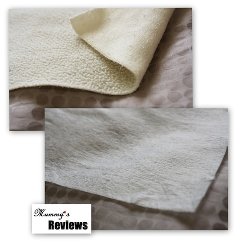 Bummis Fleece & Bio-Soft Liners (Close-Up)