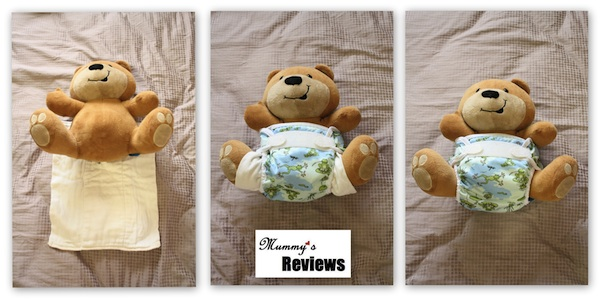 Bummis Organic Cotton Prefolds (No Need to Fold )