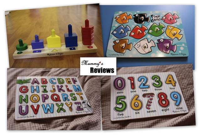 Melissa & Doug Toys Collage