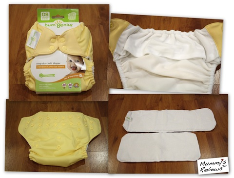 bumGenius 4.0 One-Size Cloth Diaper (Snap) (Details)