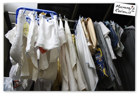 How to Wash Cloth Diapers - Drying