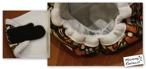 weehuggers Diaper Cover (Hook & Loop) (Close Up)
