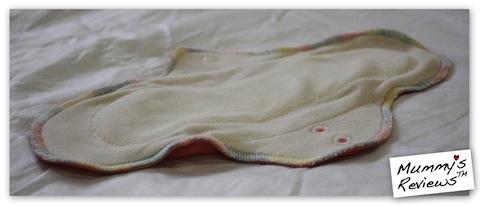 """Fresh Moon 11"""" AIO Organic Bamboo Velour Cloth Pad"""