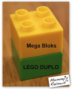 LEGO DUPLO and Mega Bloks compatible