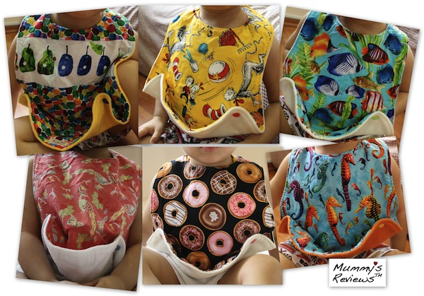 Loopy Loo's Snap and Scoop Bib all