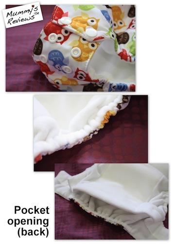Blueberry Basix Training Pants close-up