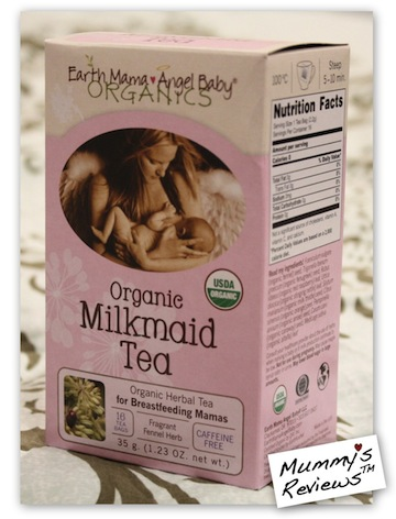 Earth Mama Angel Baby Organic Milkmaid Tea iherb