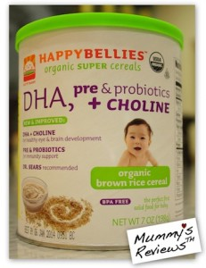 HappyBellies Organic Brown Rice Cereal iherb