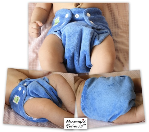 SgBum Minky Cloth Diaper different views baby