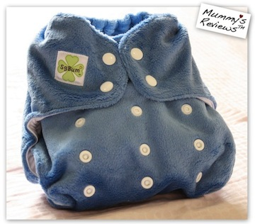 SgBum Minky Cloth Diaper