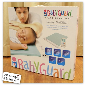 iBabyGuard Infant Smart Mat Box
