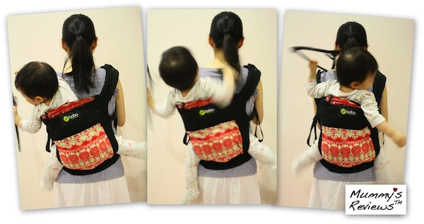 Mummy's Reviews - Boba Baby Carrier 3G back-carry