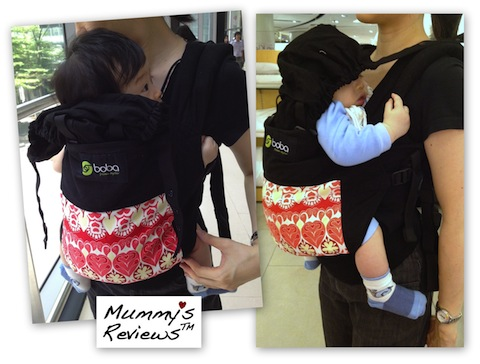 Mummy's Reviews - Boba Baby Carrier 3G front-carry