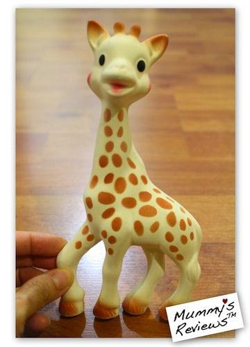 Mummy's Reviews - Sophie the Giraffe teether