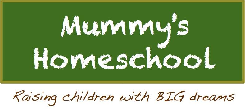 Mummy's Homeschool logo with tagline