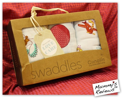 Mummy's Reviews - Ciinolin Muslin Swaddles