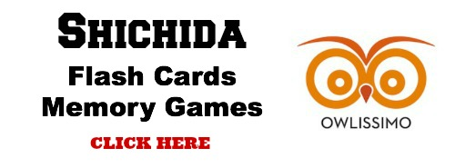 Shichida flash cards, photographic memory games