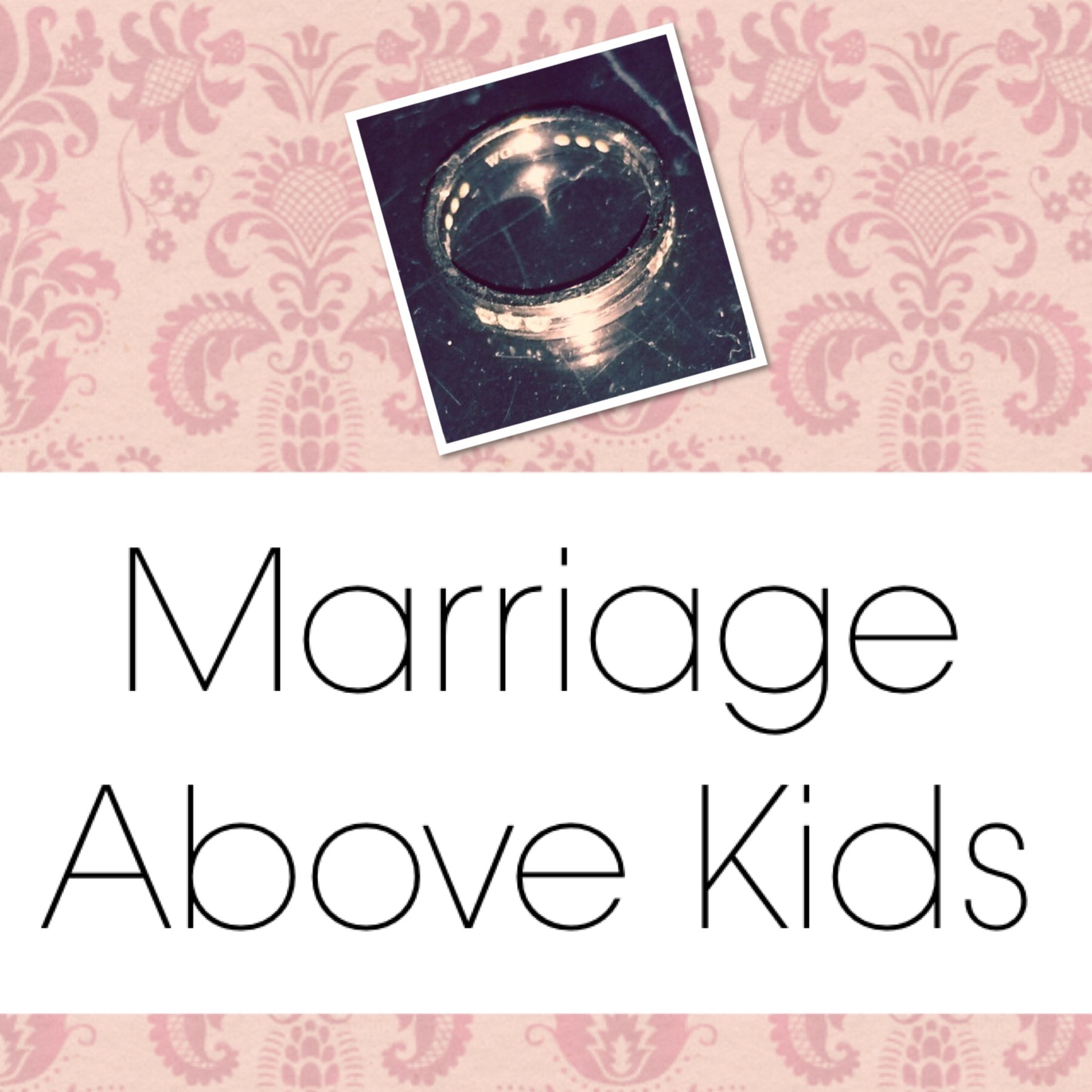 Marriage over kids