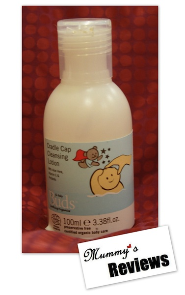 Buds Cradle Cap Cleansing Lotion