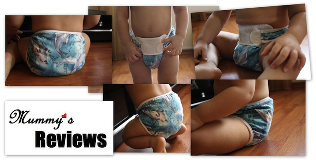 Bummis SWIMMI Swim Diaper (Different views)