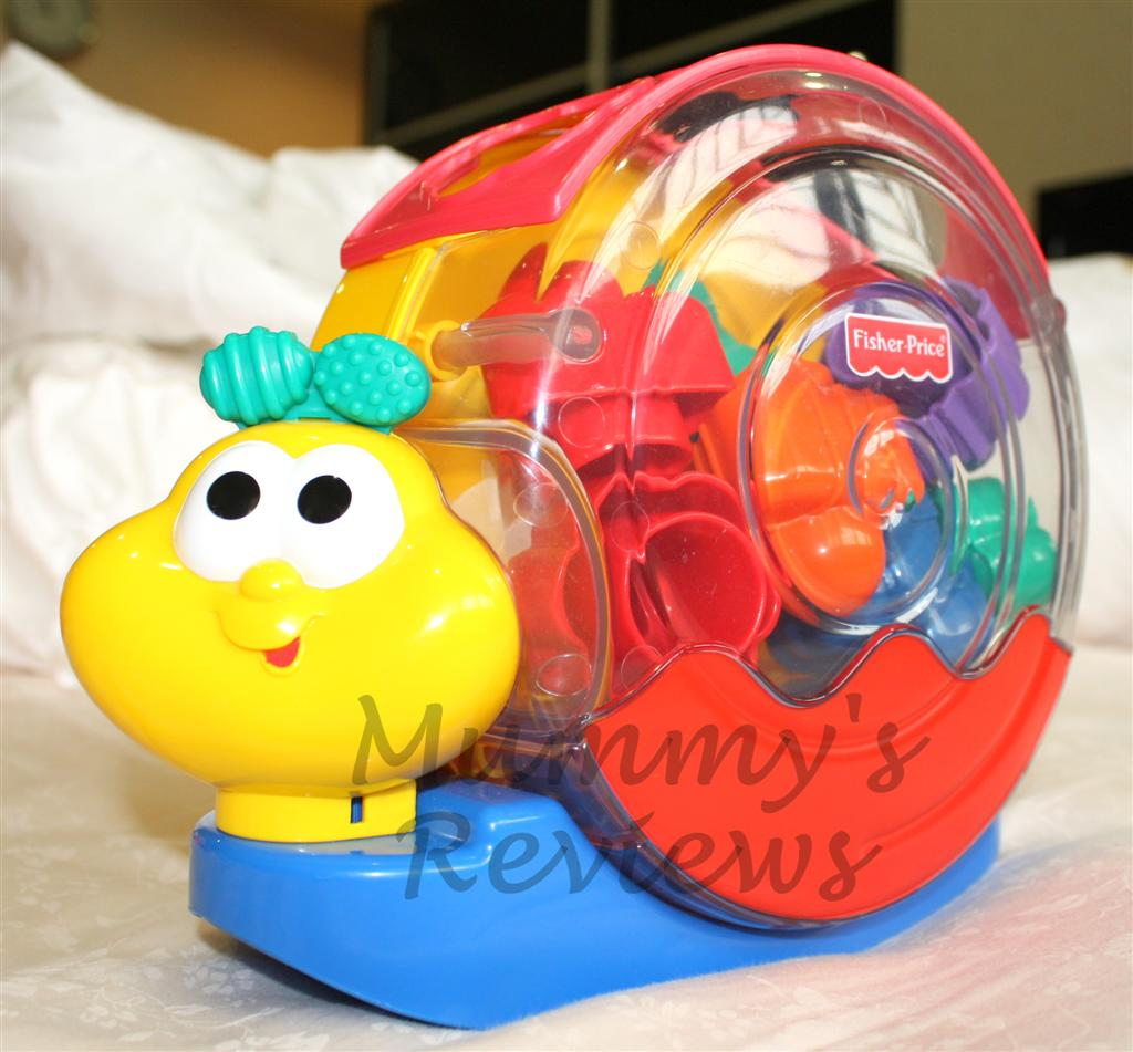 Fisher-Price Musical Snail Pail Shape Sorter