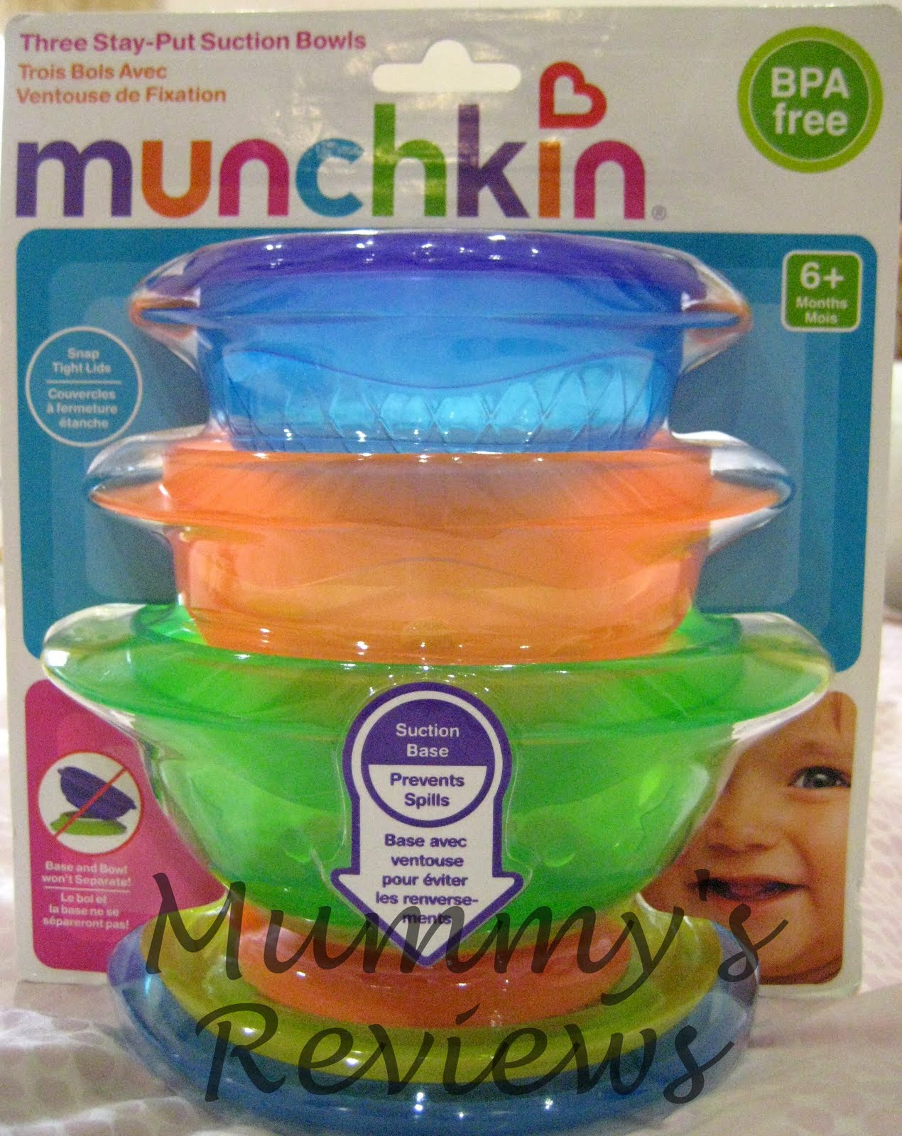 I was bringing Baby Vu0027s lunch to the dining area when his Daddy suggested that his bowl ought to have a lid to ensure hygiene. Good idea!  sc 1 st  Mummyu0027s Reviews & Review: Munchkin Stay-Put Bowls | Mummyu0027s Reviews
