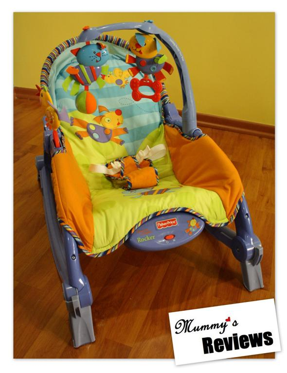 Review: Fisher-Price Newborn-to-Toddler Portable Rocker