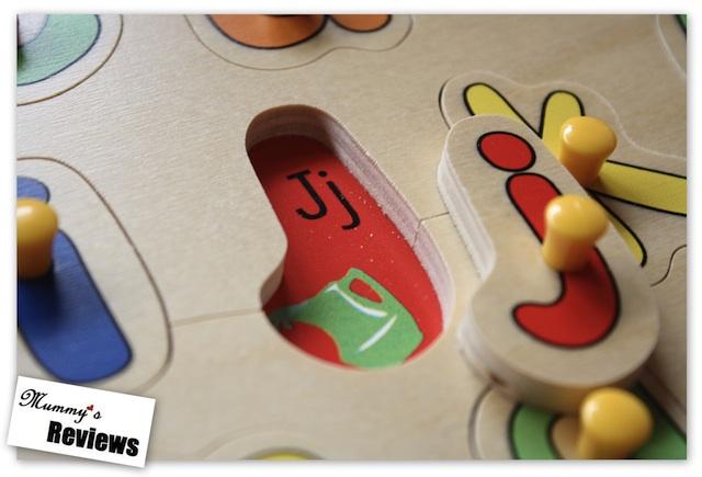 ELC Lift and Look Alphabet Puzzle Close-Up