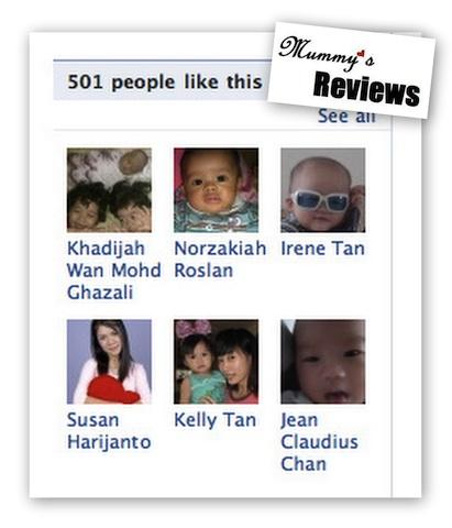 Facebook Fans Over 500