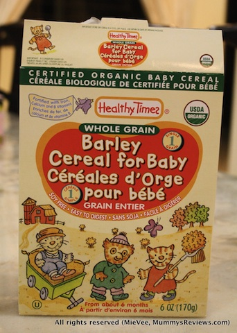 Healthy Times Barley Cereal Infested with Insects