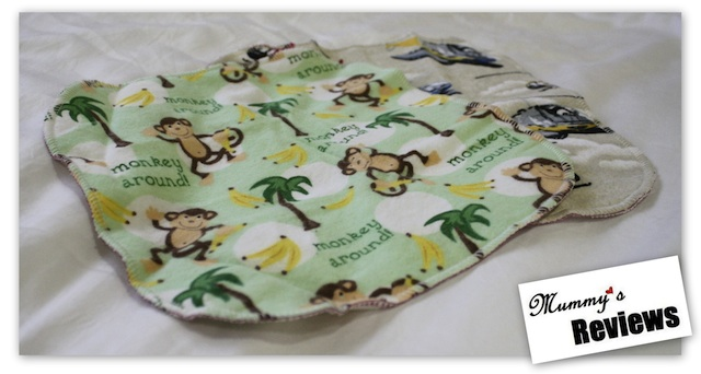 Angel Mel Cloth Baby Wipes