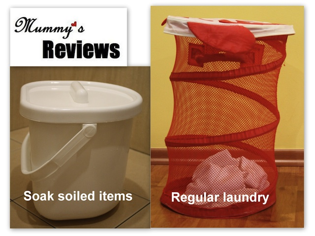 Baby's Laundry (1 Wet Pail & 1 Laundry Basket)