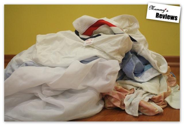 Baby's Laundry Mountain