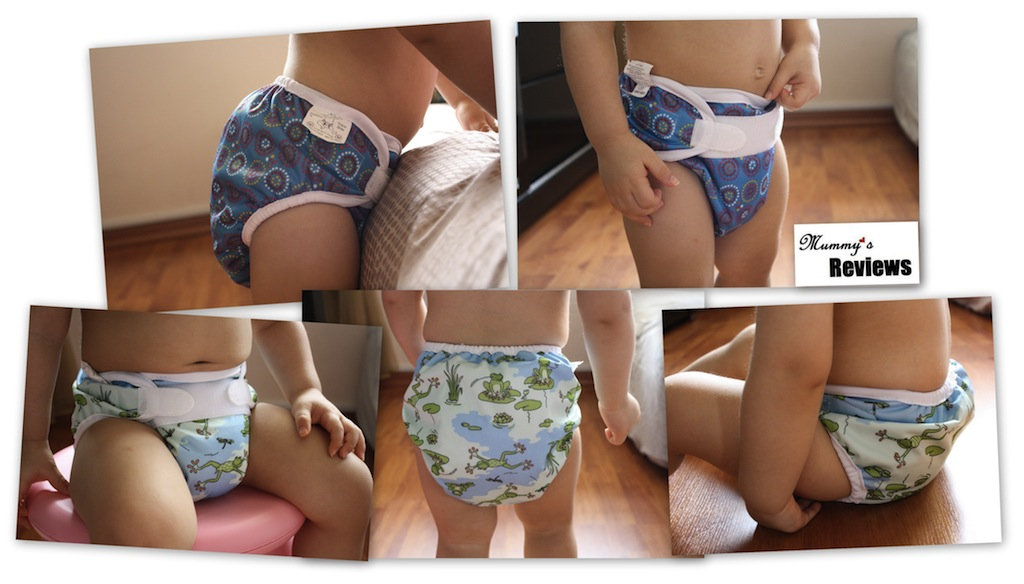 Bummis Super Brite vs. Super Whisper Wrap (different views)