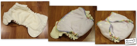 Kissaluvs Cotton Fleece Fitted Cloth Diapers v2.0 (Wear)