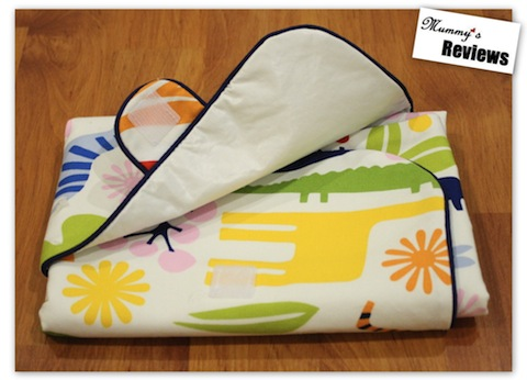 PuddletonBaby Diaper Mat Clutch (velcro)