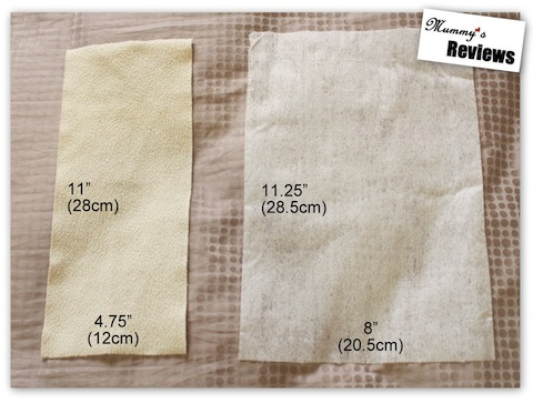 Bummis Fleece & Bio-Soft Liners (Compare Size)