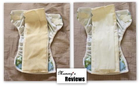 Bummis Fleece & Bio-Soft Liners (With diaper)