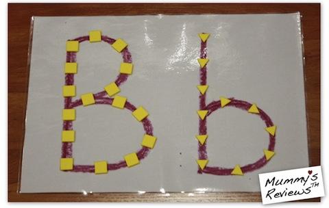 My First Sticky Mosaics (Letter B)