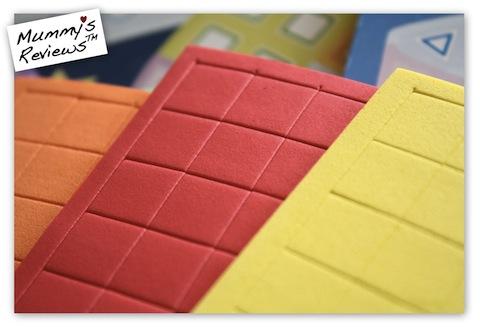 My First Sticky Mosaics (foam stickers close-up)