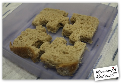 The Lunch Punch (jigsaw puzzle bread)
