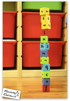 ELC Alphabet Blocks tower